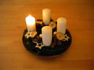 Advent Wreath courtesy of www.freeimages.com